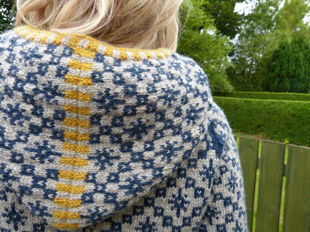 Oa Hoody - Kate Davies - Knitted by Shona Mason