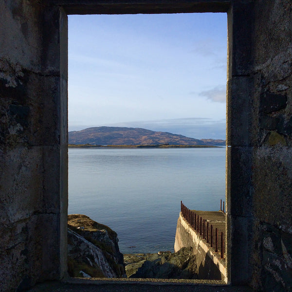 Room with a sea view, Argyll Coast, Scotland