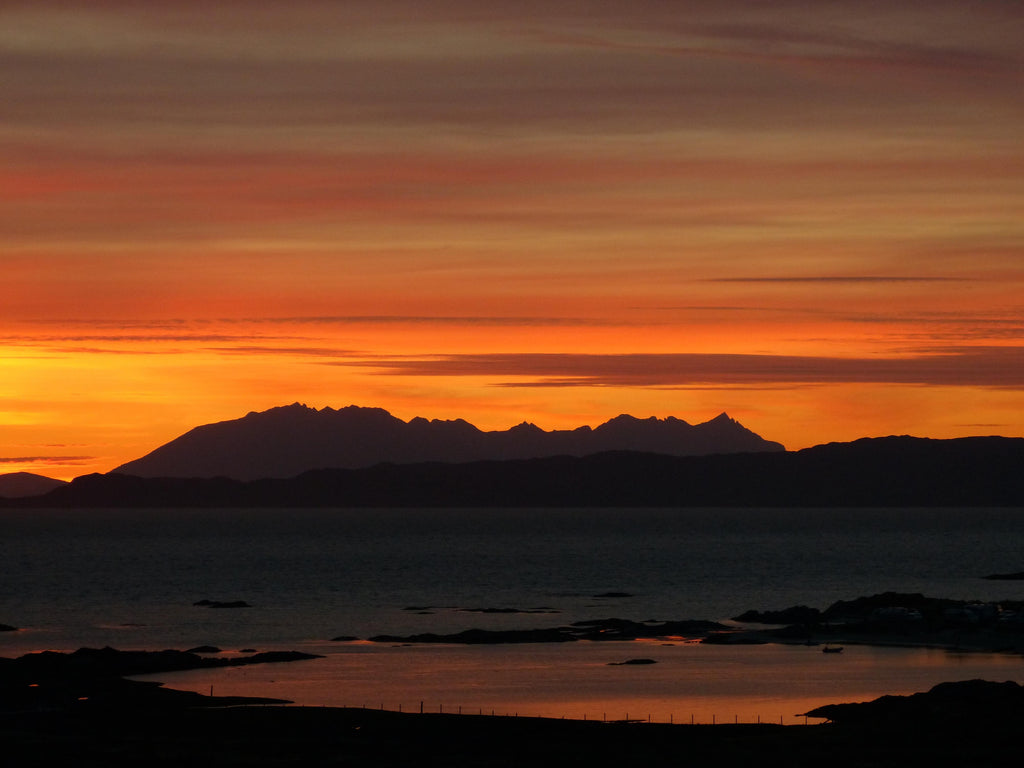 Black Cuillin Sunset Isle of Skye