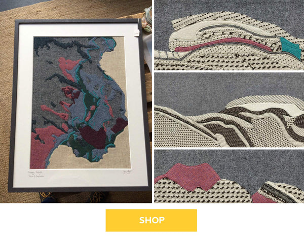 Shop online for geology inspired art