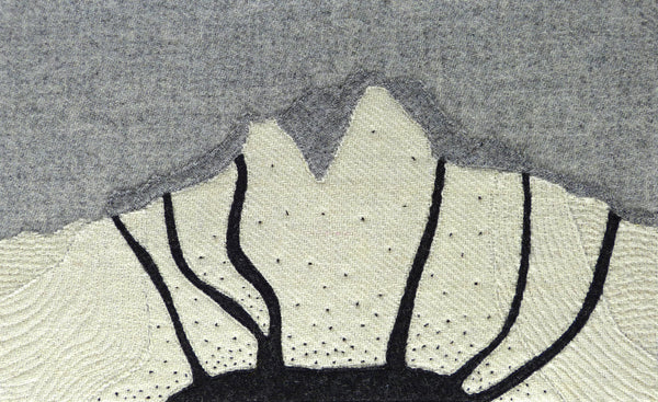 HUTTON'S SECTION, GOATFELL, ISLE OF ARRAN, TEXTILE ART, GEOLOGY