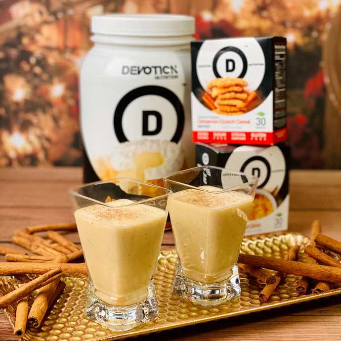 Devotion Protein Egg Nog