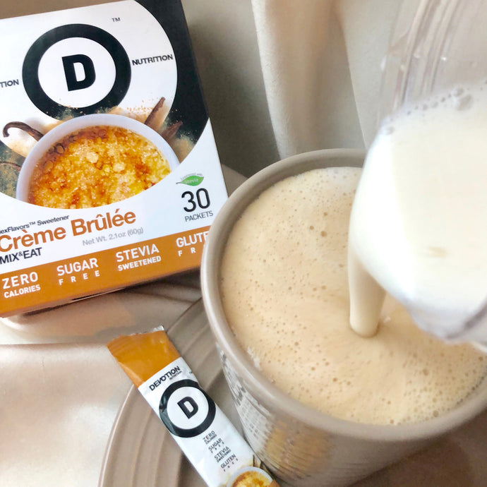 Creme Brulee Protein Latte Recipe