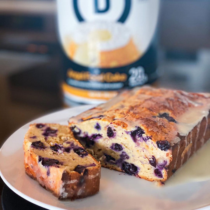 Healthier Blueberry Cream Cheese Loaf