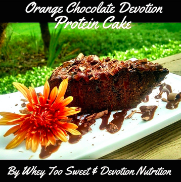 Orange Chocolate Devotion Cake