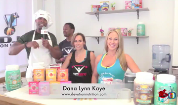 Devotion Demo with Our Friends at Fitness The Wright Way TV
