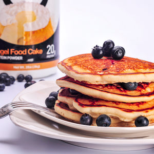 Angel Food Cake Protein Pancakes