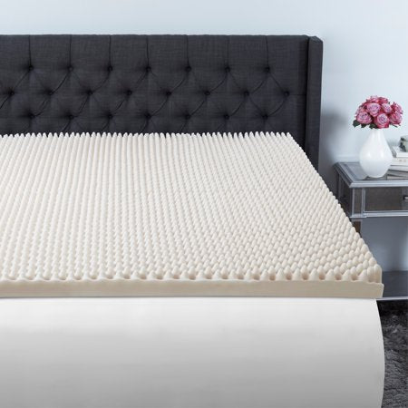 Beautyrest 3 inch Convoluted Foam Mattress Topper in Multiple Sizes - all best sales