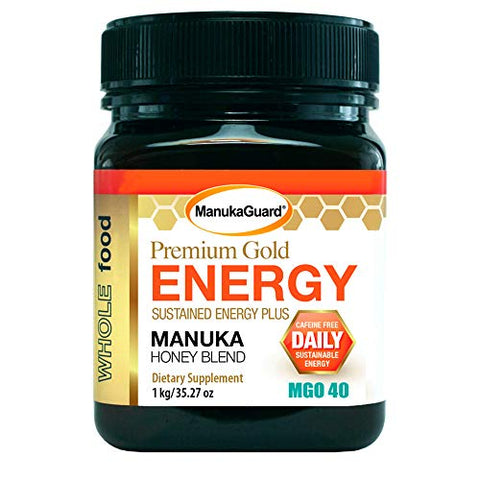 Dietary Supplement Premium Gold Energy Blend Plus  Manuka Honey Blend 35.27 oz - all best sales
