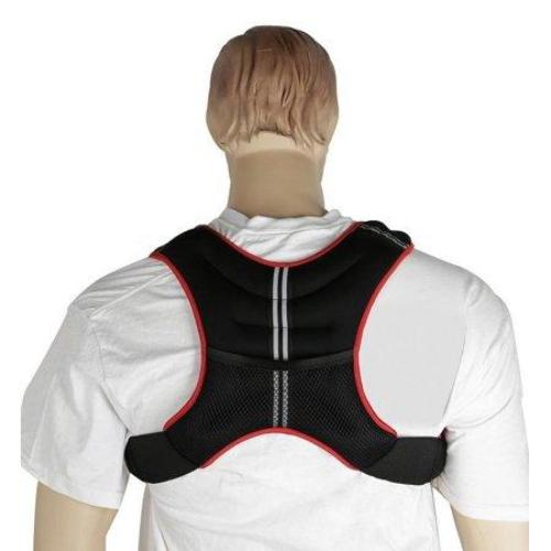 Gymenist Weight Vest With Adjustable Straps One Size Fits All (10 LB 25 lbs) - all best sales