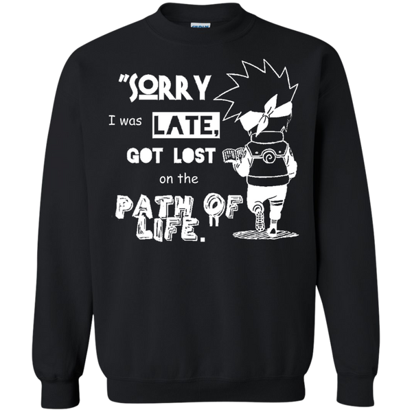 Christmas Sweatshirt - Kakashi is Late - Naruto Way