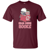 Read More Books! - Kakashi and Yamato Funny Shirt S-6XL. My friend, share if you get it. - all best sales
