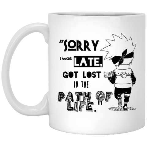 I was Late -  11 oz. Mug - Naruto Way