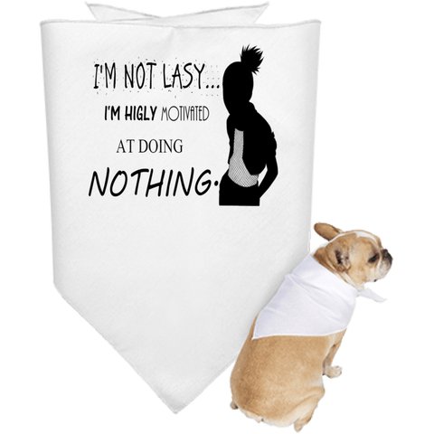 Naruto - Shikamaru I am not Lazy - Doggie Bandana - all best sales