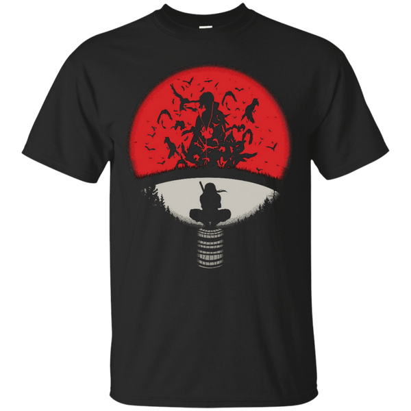 Uchiha Crest - Custom Ultra Cotton T-Shirt - Naruto Way