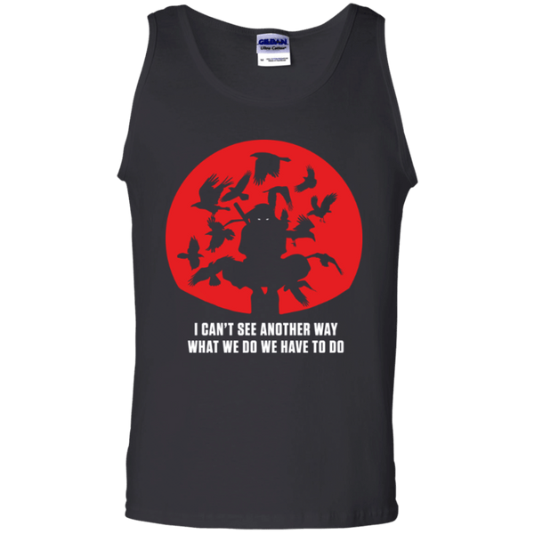 Itachi Uchiha - No Way - Cotton Tank Top - Naruto Way