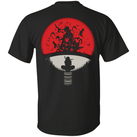 Uchiha Crest - Custom Ultra Cotton T-Shirt (Back) - all best sales