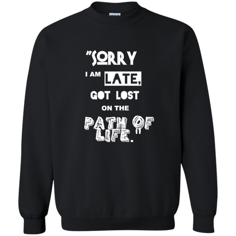 Cool Christmas Sweatshirt - I am LATE - all best sales