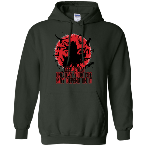 Itachi Uchiha - Keep Calm - Pullover Hoodie - Naruto Way