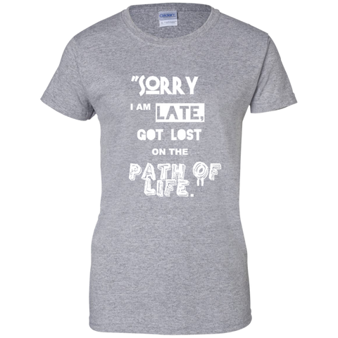 I am LATE - Ladies Shirt - Naruto Way
