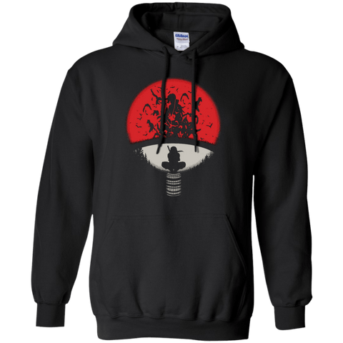 Uchiha Crest - Naruto Hoodie Pullover With Uchiha Logo - all best sales