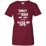I am LATE - Ladies Shirt - all best sales