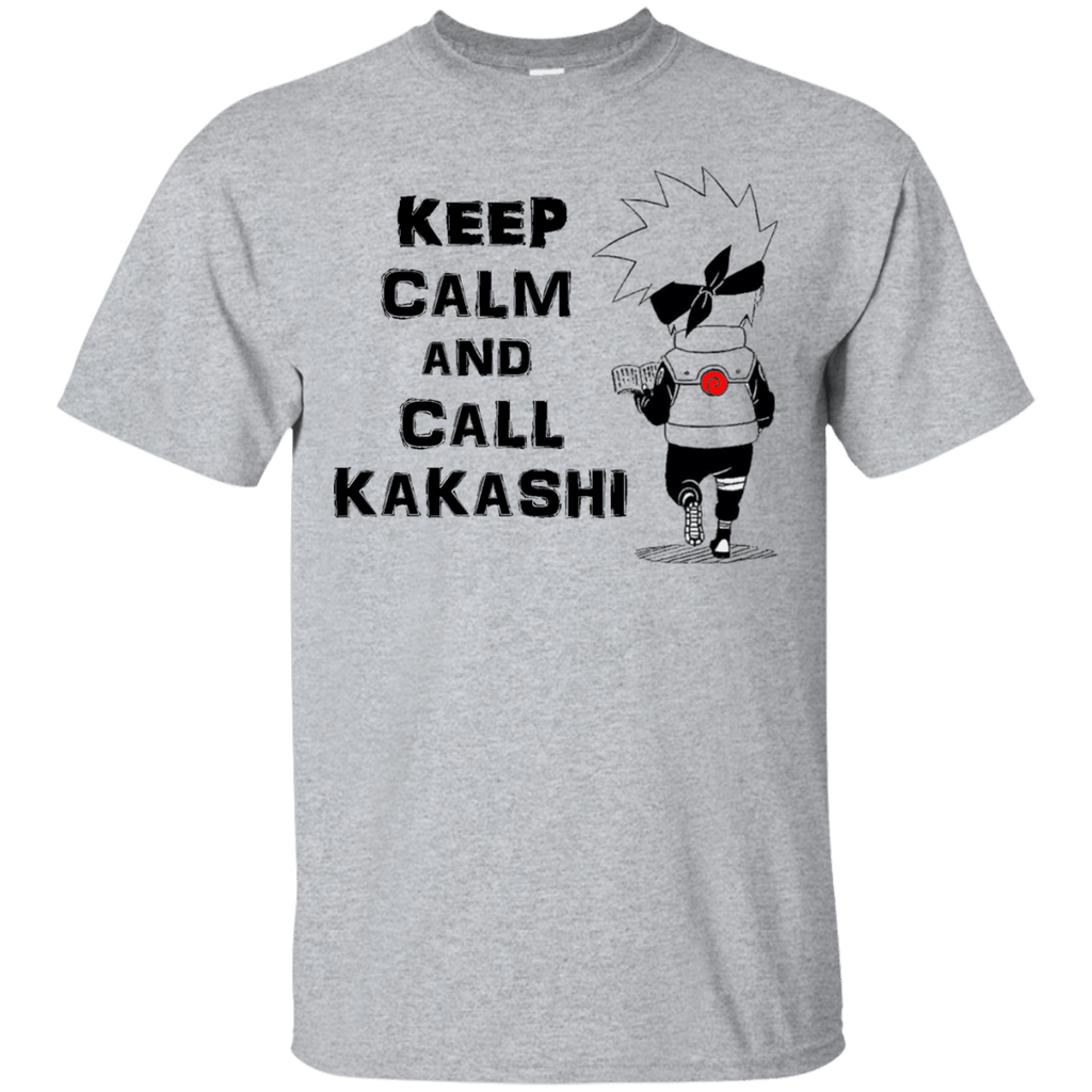 Call Kakashi - Custom Ultra Cotton T-Shirt - Naruto Way