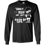 LS Kakashi Quotes Tshirt - Naruto Best Kakashi Excuse - Sorry I Got Lost on the Path of Life - all best sales