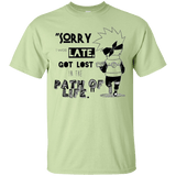 I was Late - Custom Ultra Cotton T-Shirt - all best sales