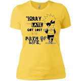 I was Late - Next Level Ladies' Boyfriend Tee - all best sales