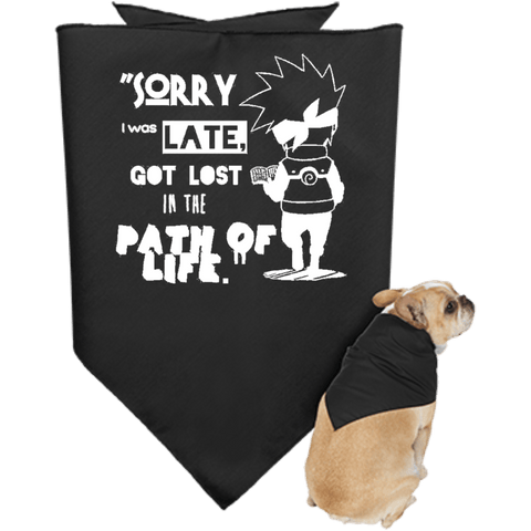 I was Late - Doggie Bandana - all best sales