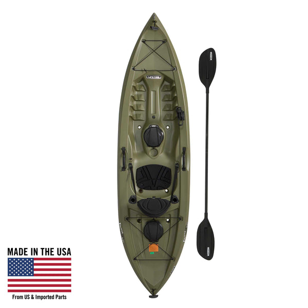 Lifetime Tamarack Angler 100 Fishing Kayak (Paddle Included), 90905 - all best sales