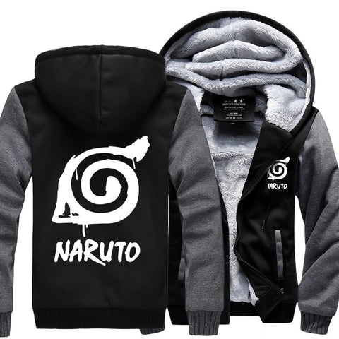 Naruto Hooded Coat M-4XL