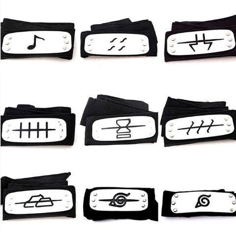 All Hidden Villages Real Naruto Headbands For Sale