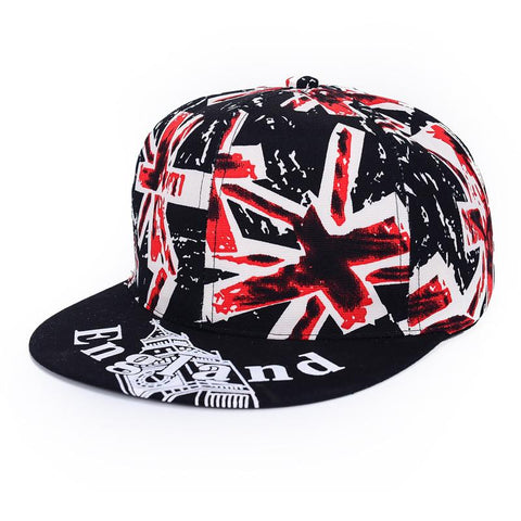 Hip Hop Cap British Flag - Naruto Way