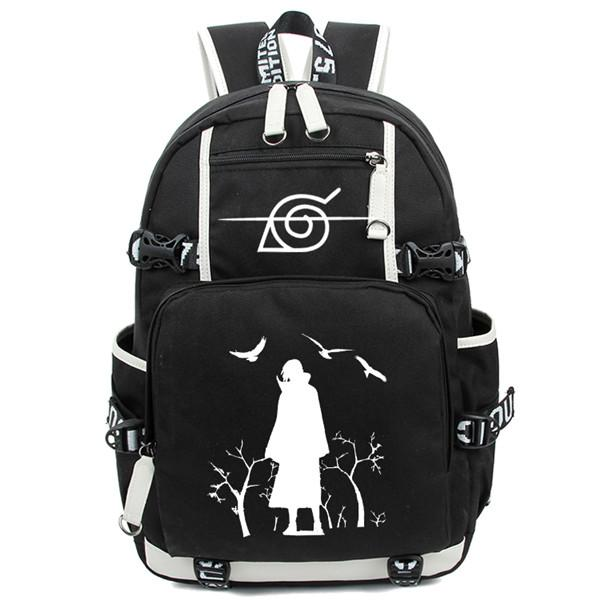 Akatsuki Backpack Itachi Backpack Bookbag for College School Students - all best sales