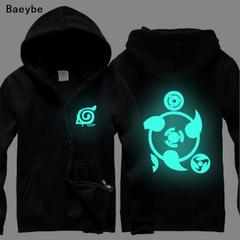 Naruto Luminous Hoodies Sweatshirt S-XXXL. Uchiha Hoodie - all best sales