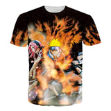 T-Shirt Naruto 3D Before buying please check the size chart - all best sales