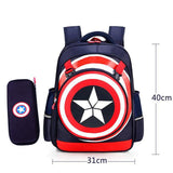 School Bag Backpack School Waterproof Captain America Shield - all best sales