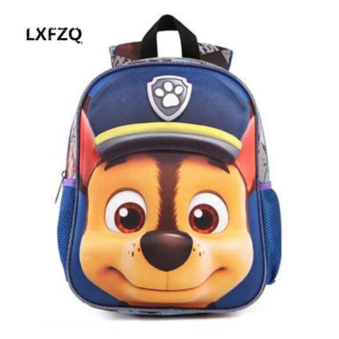 3D Bags Puppy Backpack School Kids Anime Nylon - all best sales
