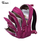 Backpack High School College Students Men Women Waterproof Nylon  All Best Sales - Online Store