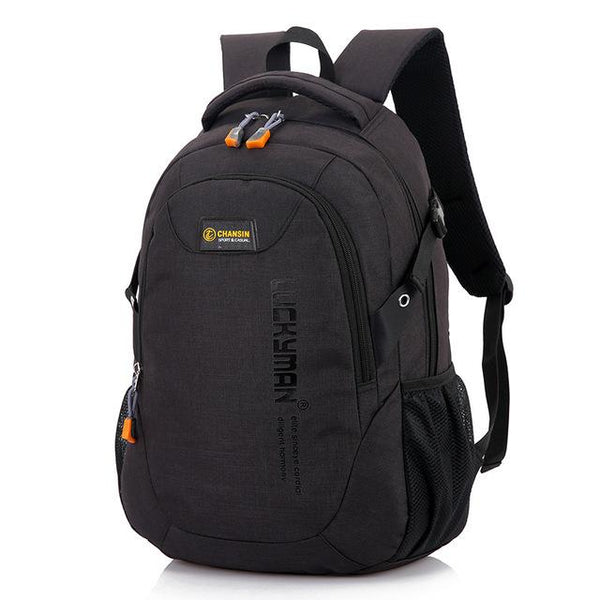 Backpack Bag Male Polyester Laptop Backpack Computer Bags High School Student College - all best sales