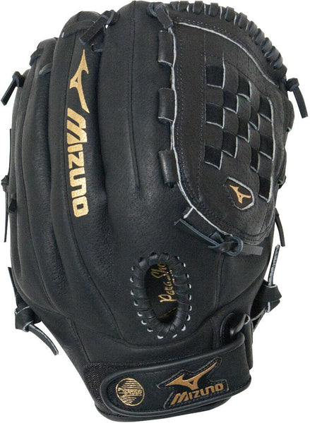"Mizuno 12"" Baseball Glove Right Hand Throw Black - all best sales"