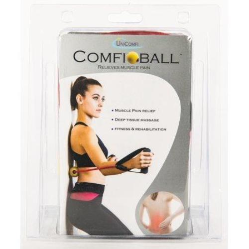 UniComfi Comfiball Back Pain Relief Massage Ball Tool, Red - all best sales
