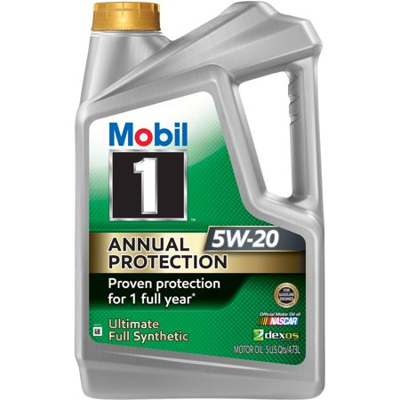 Mobil 1 Annual Protection 5W20, 5 qt - all best sales