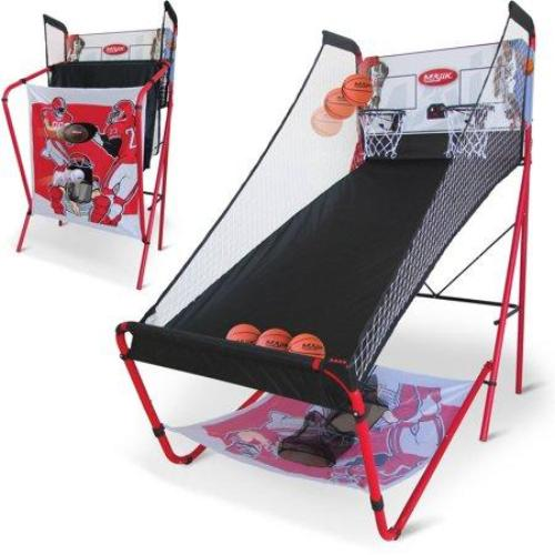 Majik 3-in-1 Triple Threat Sport Center, Basketball Football Baseball - all best sales