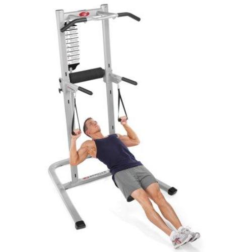 Bowflex Body Tower with E-Z Adjust Horizontal Bars and 20+ Exercises - all best sales