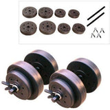 CAP Strength Flat Bench with Adjustable Dumbbell Set - all best sales