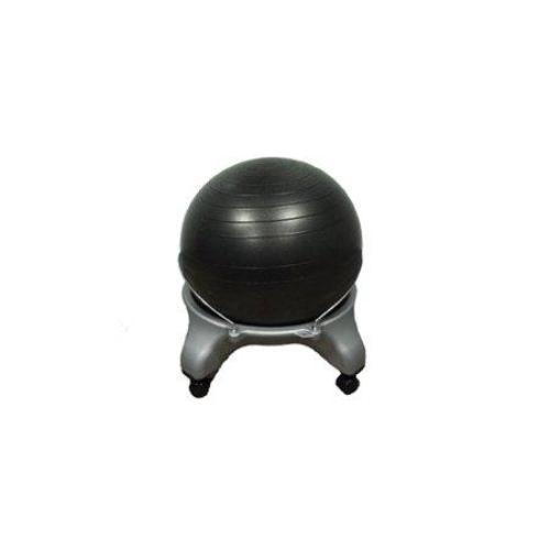 CanDo Plastic Exercise Ball Chair with Locking Casters - all best sales