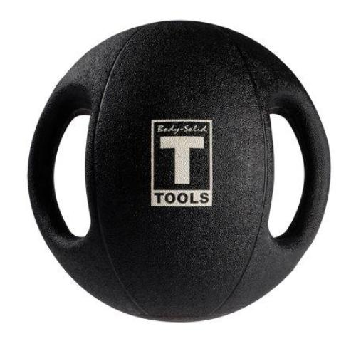 BSTDMB14 14lb BLack Dual Grip Medicine Ball - all best sales